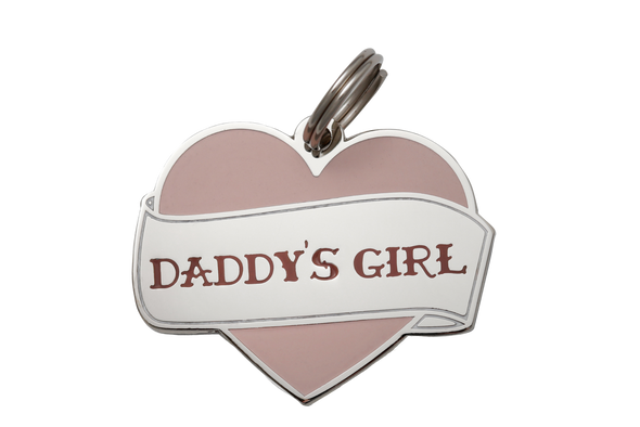 Daddy's Girl Dog Tag by Two Tails-Store For The Dogs