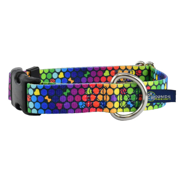 5/8″ and 1″ EarthStyle Side Release Dog Collar by 2 Hounds Design-Store For The Dogs