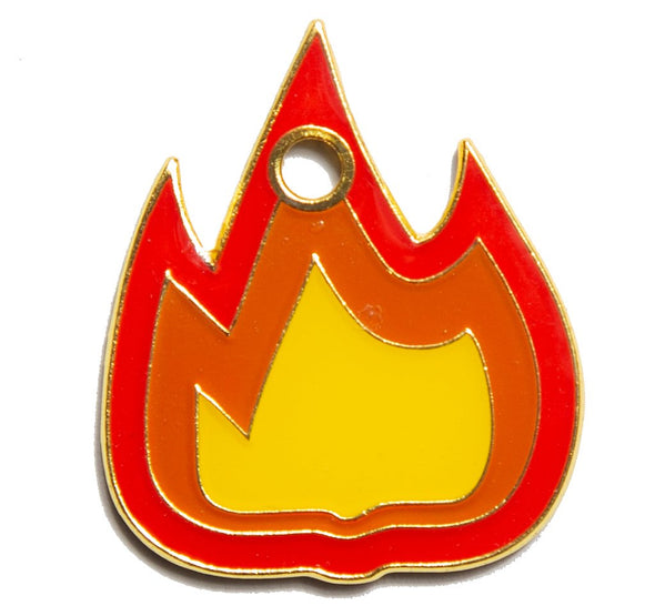 Flame Tag by Trill Paws-Store For The Dogs