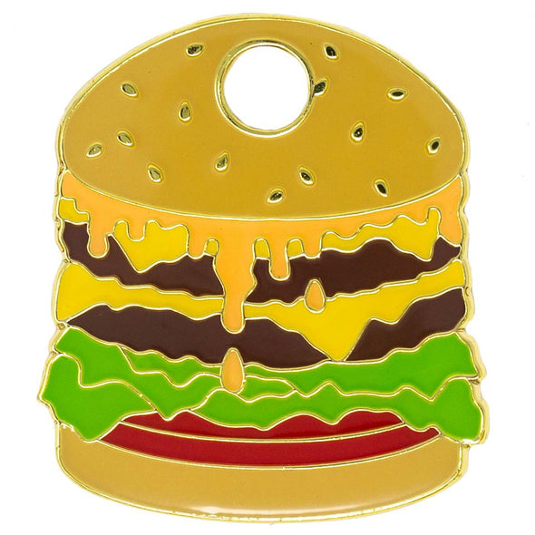Hamburger Tag by Trill Paws-Store For The Dogs