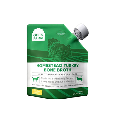 Homestead Turkey Bone Broth by Open Farm-Store For The Dogs