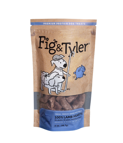 Lamb Hearts by Fig & Tyler-Store For The Dogs