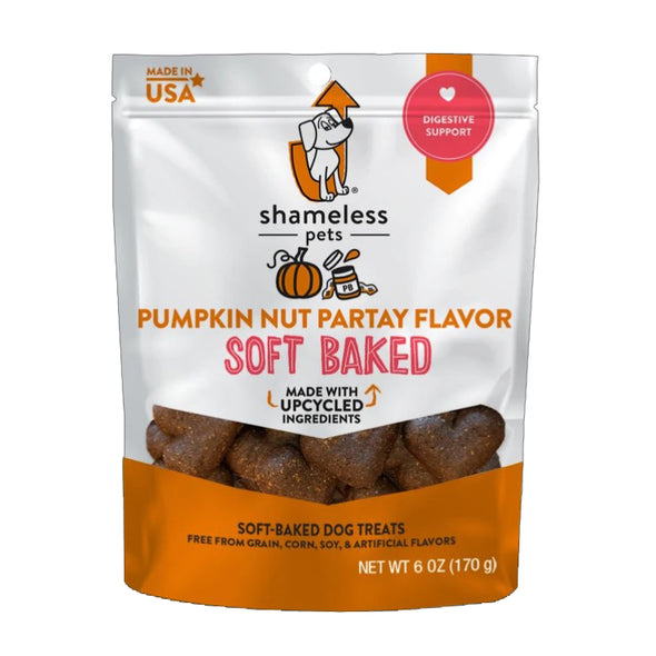 Pumpkin Nut Partay Soft Baked Vegan Treats by Shameless Pets-Store For The Dogs