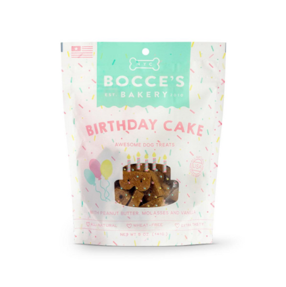 Bocce's Bakery Birthday Cake Biscuits-Store For The Dogs