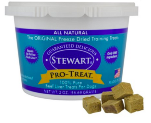 Stewart Pro-Treat Freeze Dried Beef Liver (4 oz)-Store For The Dogs