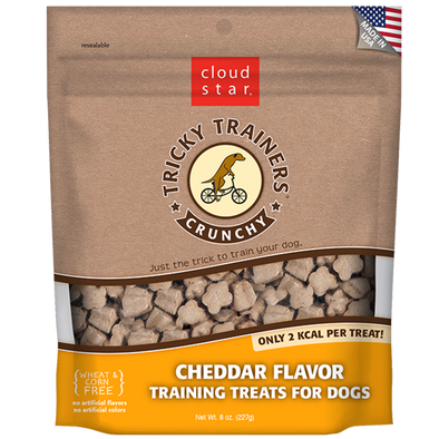 Cloud Star Crunchy Tricky Trainers Cheddar Flavor Dog Treats-Store For The Dogs
