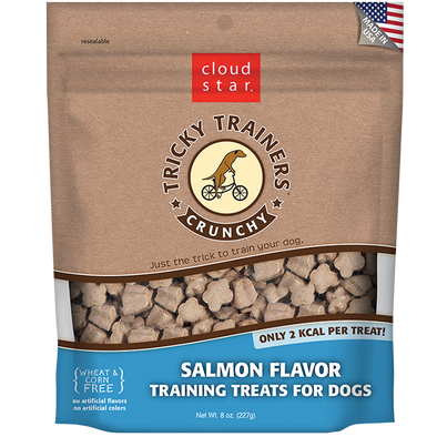 Cloud Star Crunchy Tricky Trainers Salmon Flavor Dog Treats-Store For The Dogs