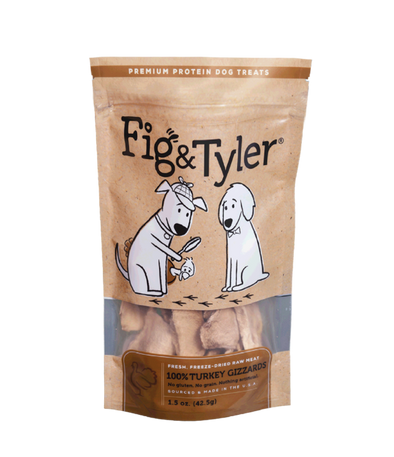 Turkey Gizzards by Fig & Tyler-Store For The Dogs