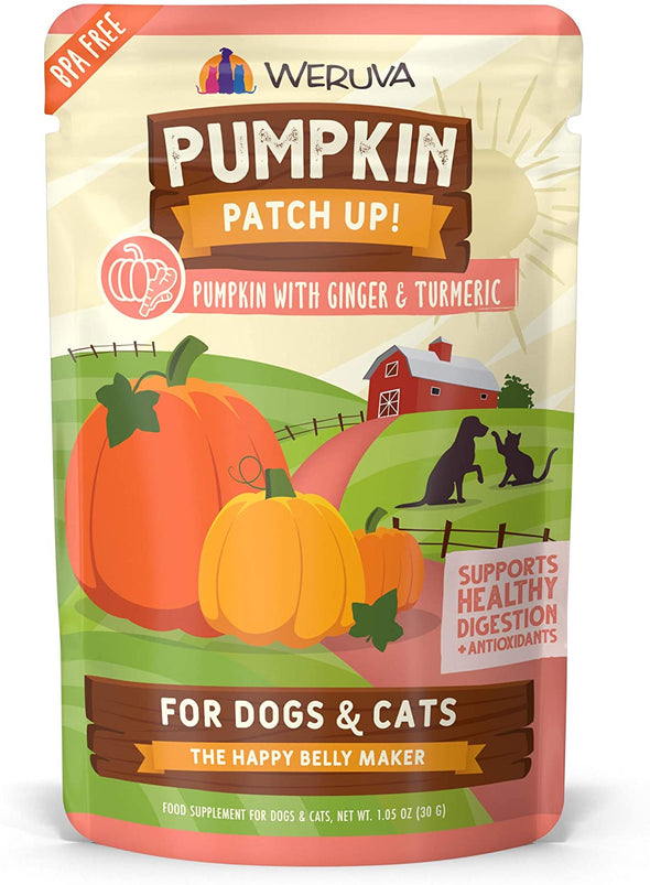 Weruva Pumpkin + Ginger Pouch-Store For The Dogs