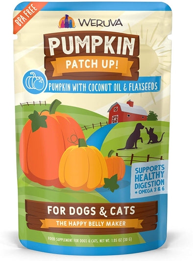 Weruva Pumpkin + Coconut Oil Pouch-Store For The Dogs