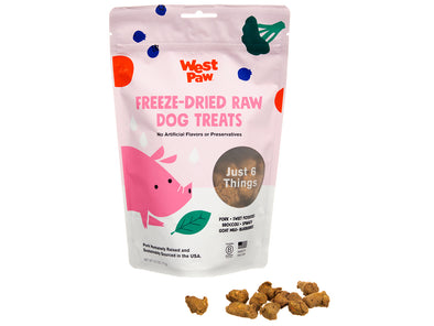 Freeze Dried Pork Superfood Dog Treats by West Paw-Store For The Dogs