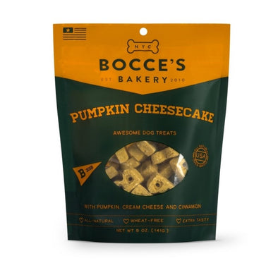 Bocce's Bakery Pumpkin Cheesecake Biscuits-Store For The Dogs