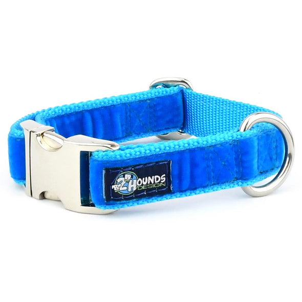 Swiss Velvet Martingale Dog Collar by 2 Hounds Design-Store For The Dogs