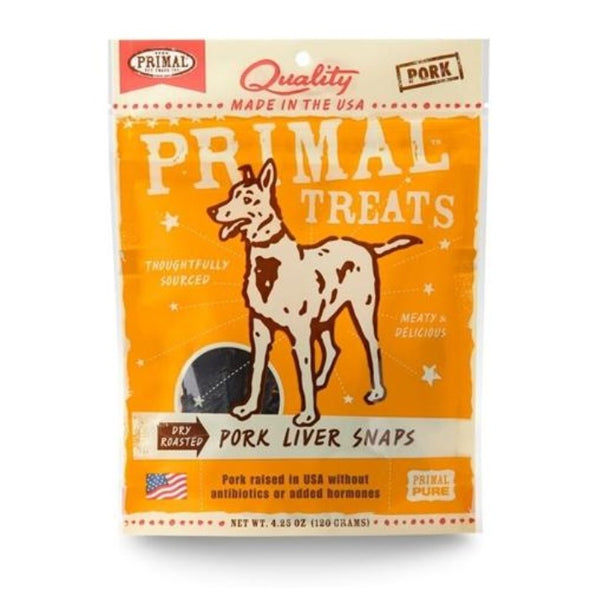 Primal Dry Roasted Liver Snaps-Store For The Dogs
