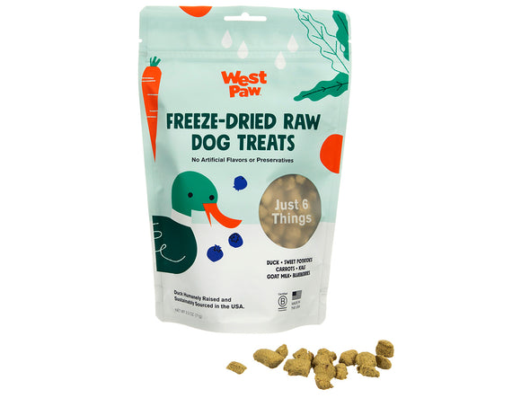 Freeze Dried Duck Superfood Dog Treats by West Paw-Store For The Dogs