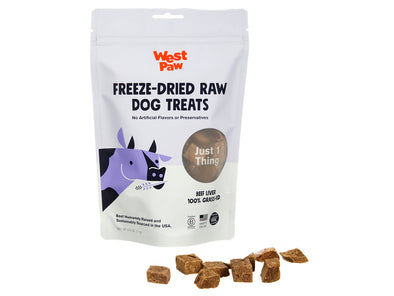 Freeze Dried Beef Liver Single Ingredient Treats by West Paw-Store For The Dogs