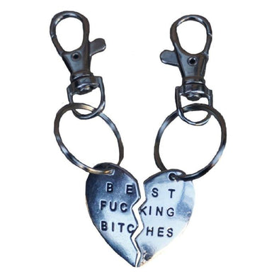 Best Bitches BFF Tag Necklace-Store For The Dogs
