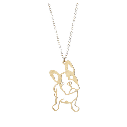 Frenchie Necklace-Store For The Dogs