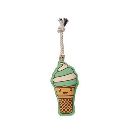 Ice Cream Squeaky Rope Toy-Store For The Dogs