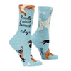 """People I Want To Meet"" Dogs Socks by Blue Q-Store For The Dogs"