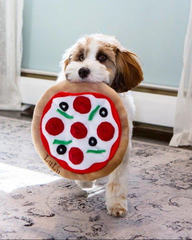 Pizza Snuffle Mat by DogNMat-Store For The Dogs