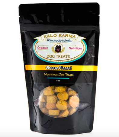"Kalo Karma ""Cheese Please"" Treats-Store For The Dogs"