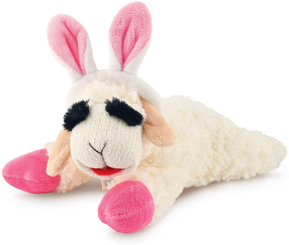 Bunny Ear Lamb Chop Plush Toy-Store For The Dogs