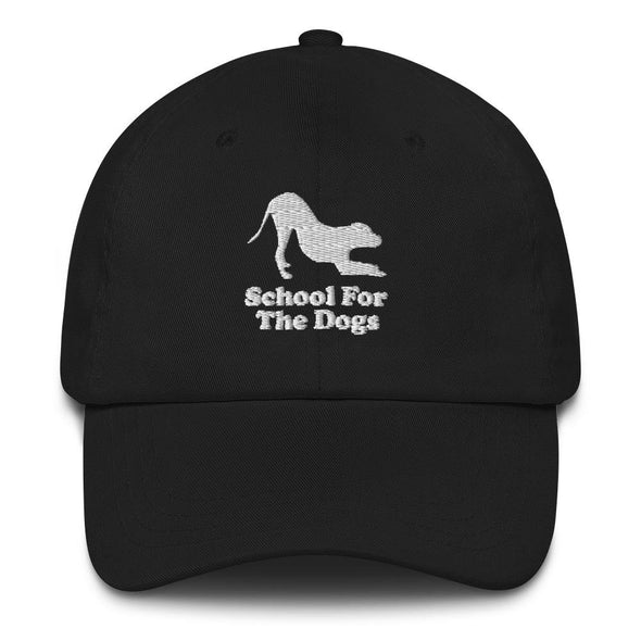 School For The Dogs Logo Dad Hat-Store For The Dogs