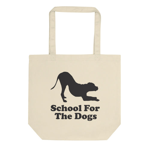 School For The Dogs Eco Tote Bag-Store For The Dogs