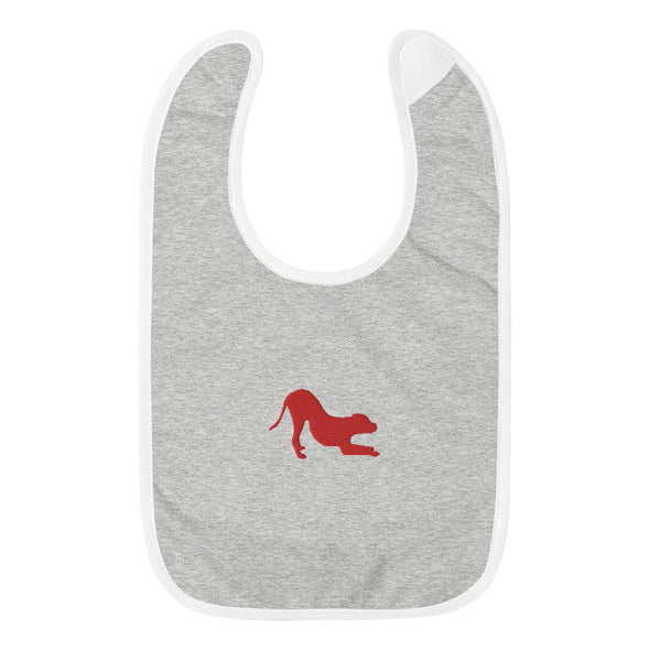School For The Dogs Embroidered Dog Baby Bib-Store For The Dogs