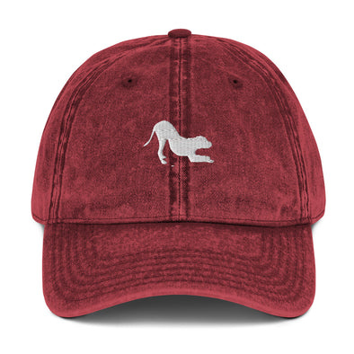School For The Dogs Vintage Cotton Twill Cap-Store For The Dogs