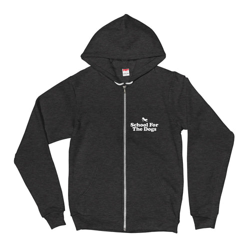 School For The Dogs American Apparel Unisex Hoodie-Store For The Dogs