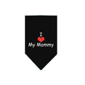 I Love My Mommy Dog Bandana-Store For The Dogs