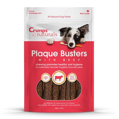 Crumps' Naturals Plaque Busters With Beef-Store For The Dogs