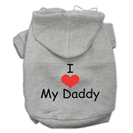 I Love My Daddy Dog T-Shirt / Sweatshirt-Store For The Dogs