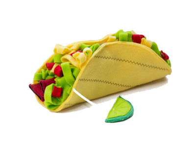 Taco Snuffle Mat by DogNMat-Store For The Dogs