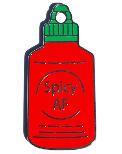 Spicy AF Tag by Trill Paws-Store For The Dogs
