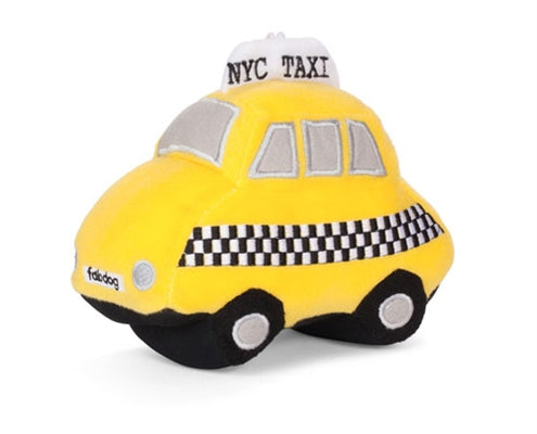 Taxi Plush Squeaky Toy-Store For The Dogs