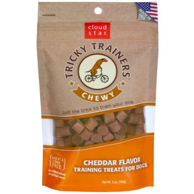 Tricky Trainers Cheddar Treats by Cloud Star-Store For The Dogs