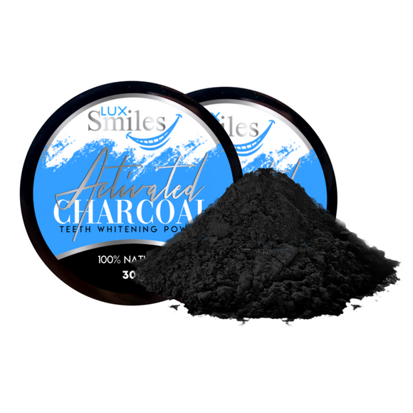 Lux Charcoal Teeth Whitening Powder-Buy 1/Get 1 Free