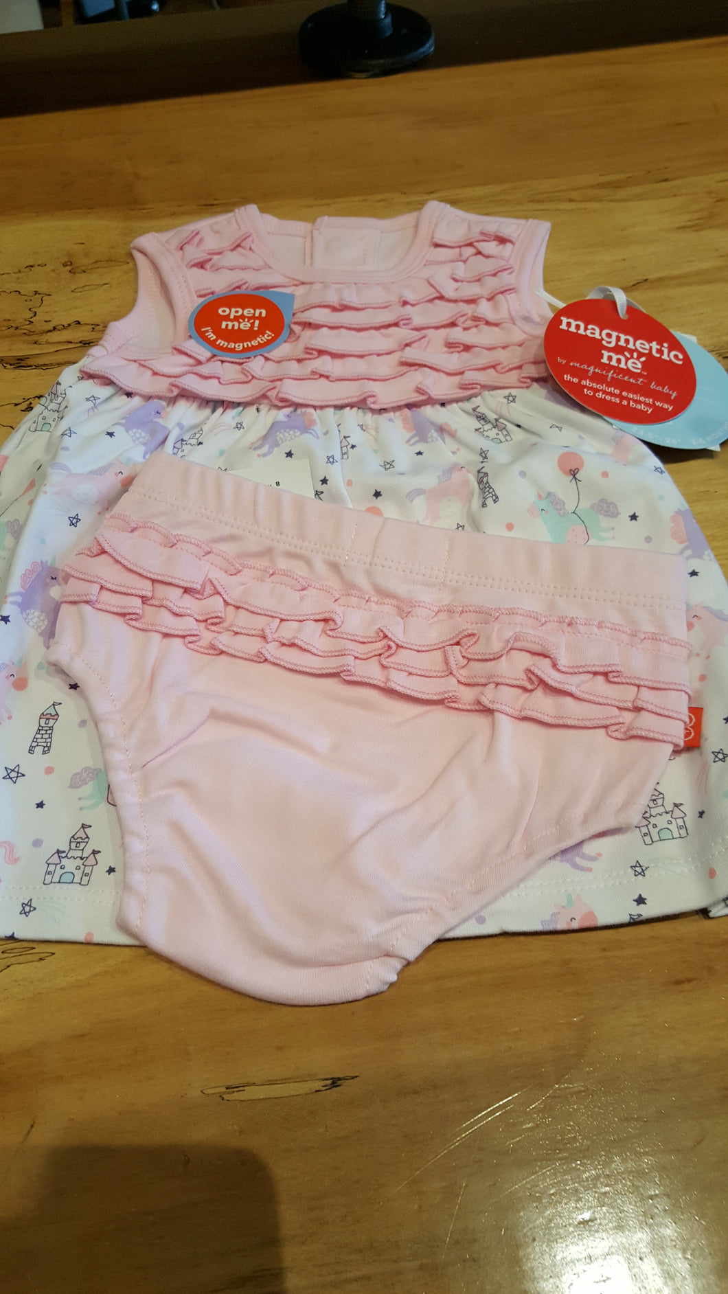 Magnetic Dress & Diaper Cover