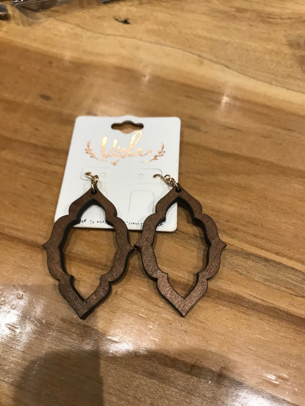 Moroccan Quatrefoil Earrings