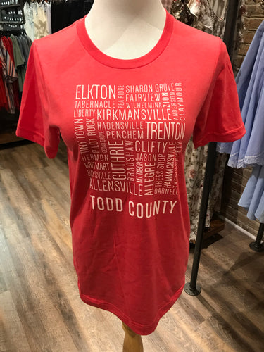 Todd County Tee