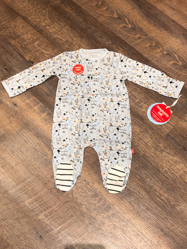 Blue Cirque Bebe Magnetic Footie