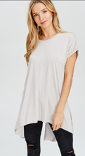Bamboo Back Slit Top