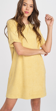 Short Sleeve Dress w/ Pockets
