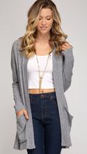 Long Sleeve Cardigan w/ Pockets