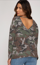 Long Sleeve Camo Shirt