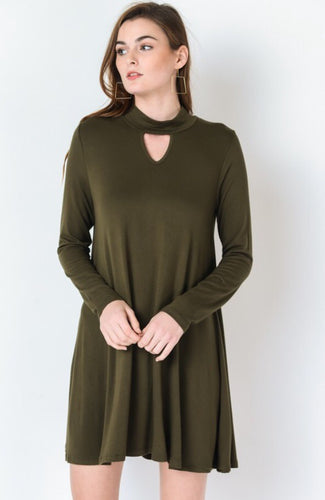 Front Keyhole Dress