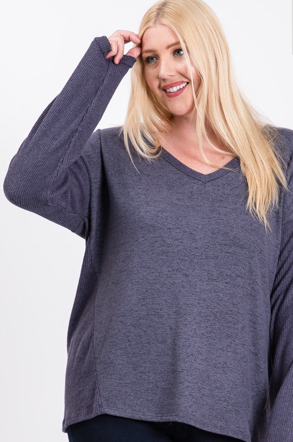 Dolman Long Sleeve Top